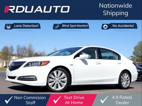 2014 Acura RLX Sport Hybrid SH-AWD w/Technology Package Sedan